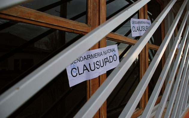 La clausura de las casitas de tolerancia - Foto: OPI Santa Cruz/Francisco Muñoz